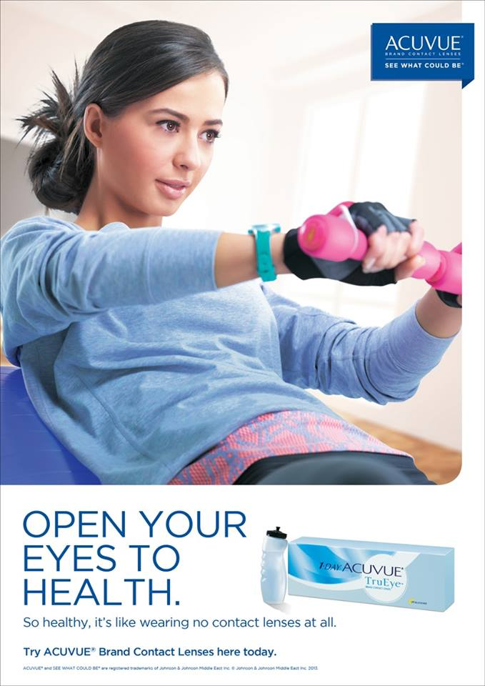 FLC Models & Talents - Print Campaigns - Acuvue