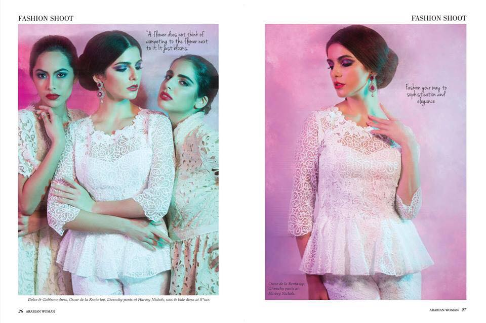 FLC Models & Talents - Catalogue Shoots - Arabian Woman Magazine - Sep 2104
