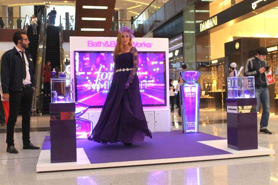 FLC Models & Talents - Print Campaigns - Bath & Body Launch - Forever Midnight Lady