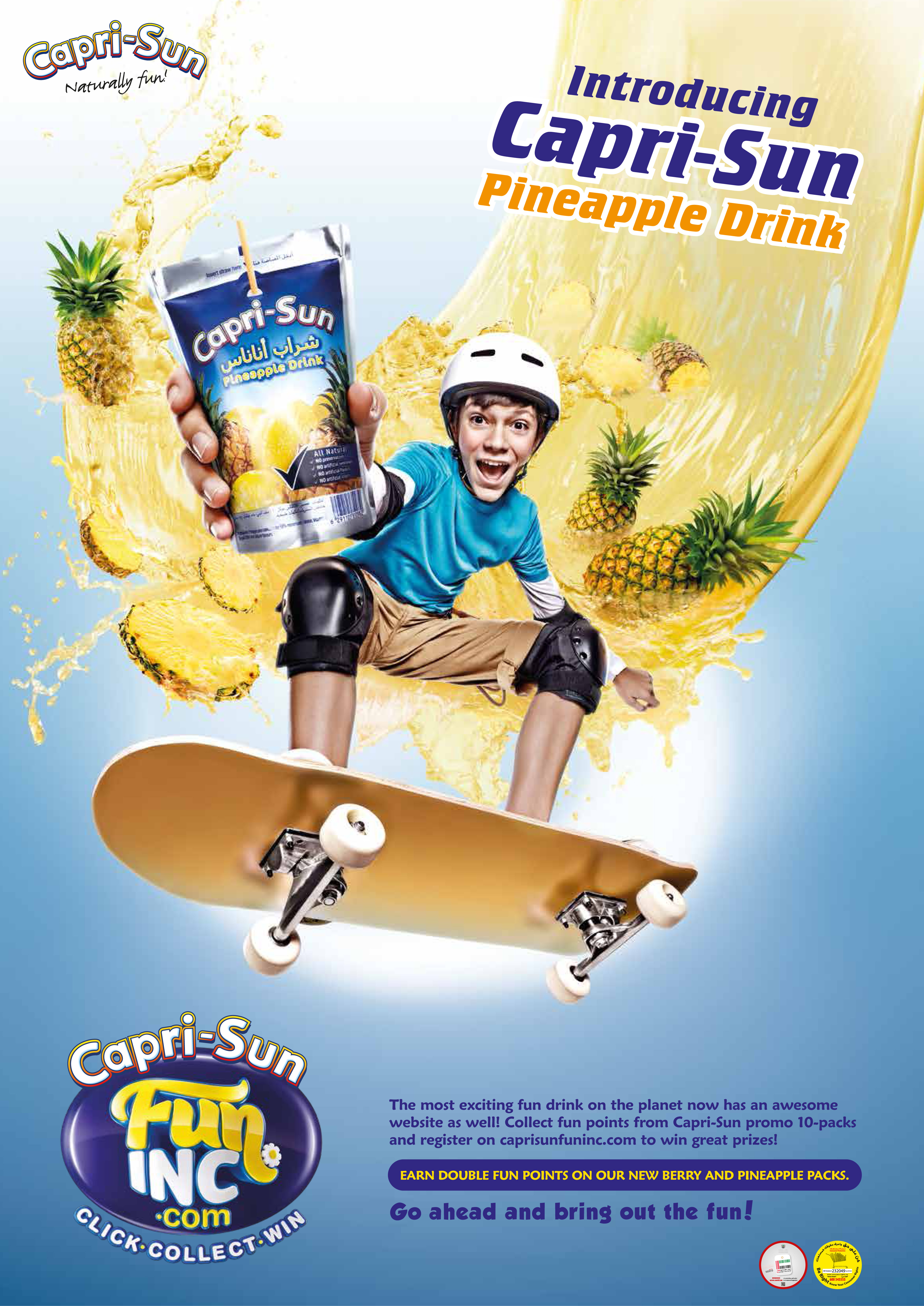 FLC Models & Talents - Print Campaigns - Capri-Sun POP