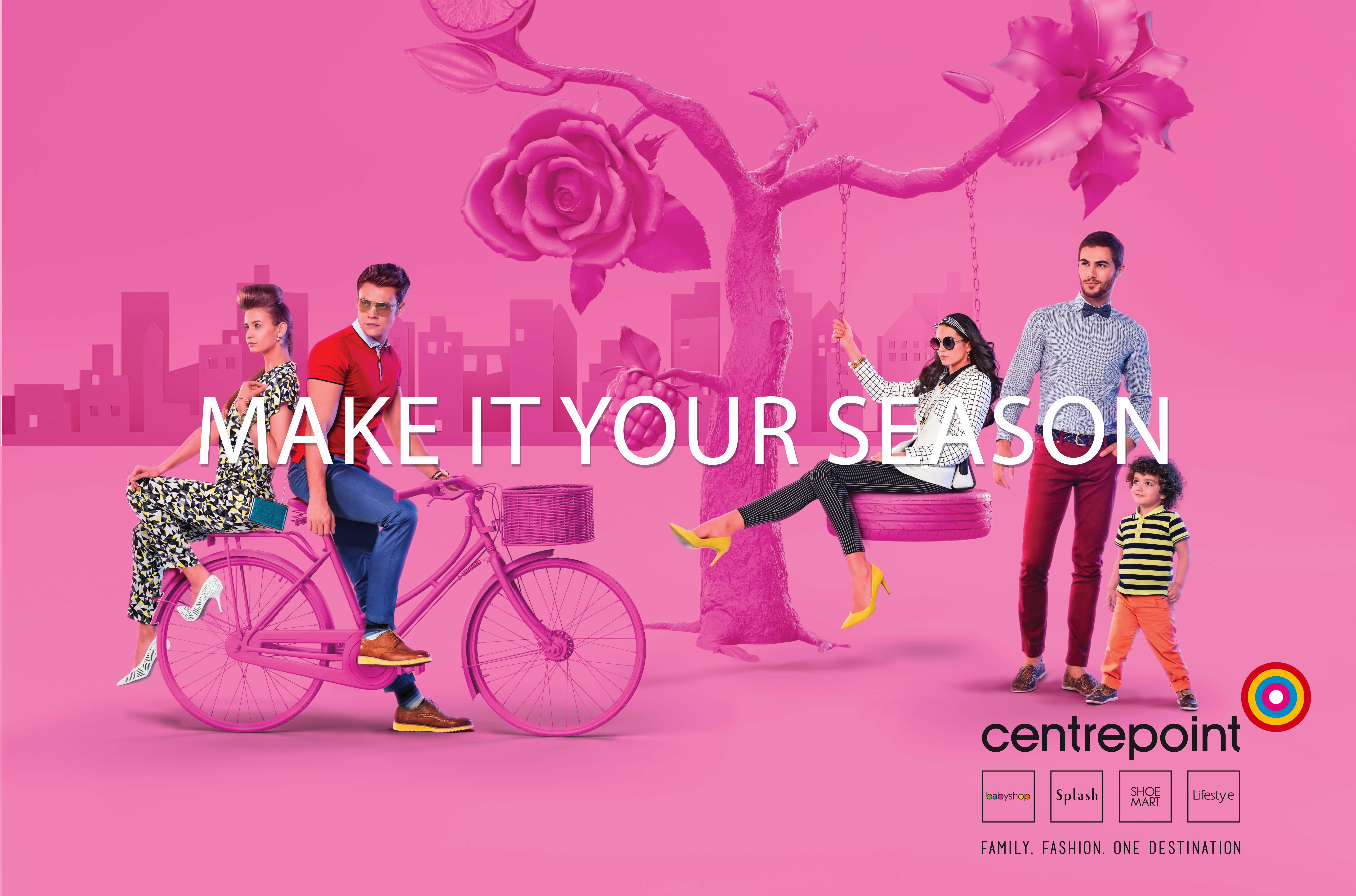 FLC Models & Talents - Print Campaigns - Centrepoint's Spring-Summer'16