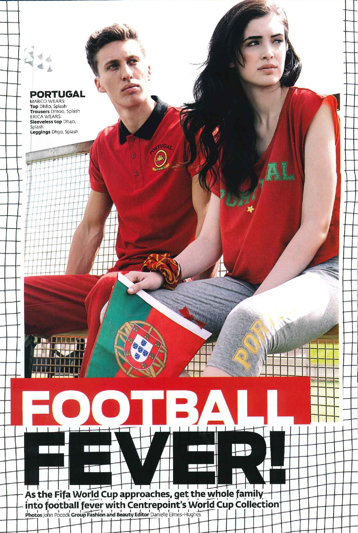 FLC Models & Talents - Catalogue Shoots - Football Fifa Feva Photoshoot Friday Magazine