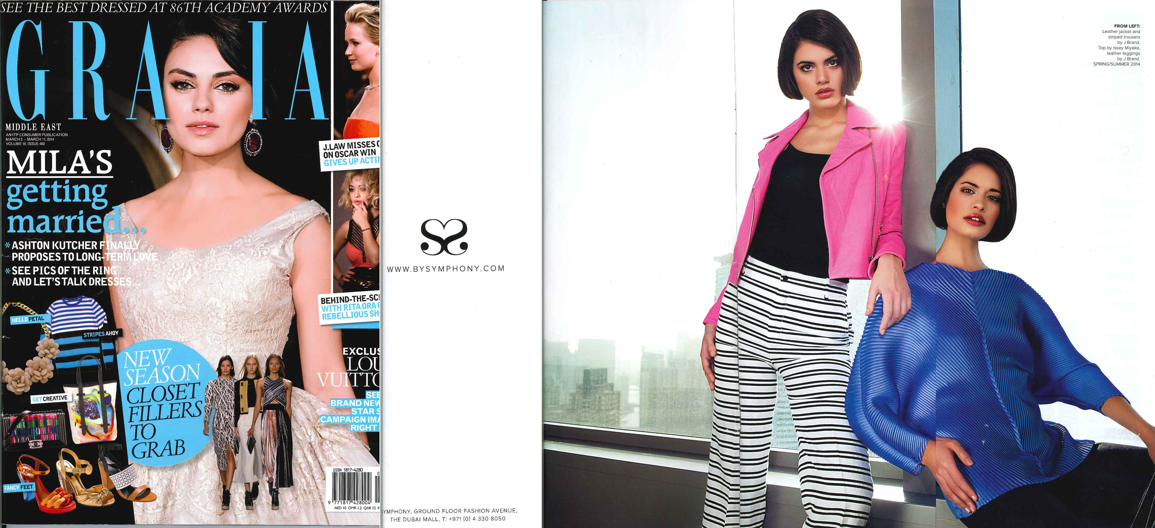 FLC Models & Talents - Catalogue Shoots - Grazia