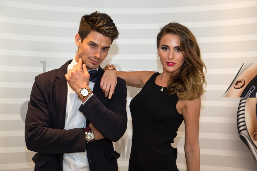 FLC Models & Talents - Print Campaigns - Jean Paul Gaultier Watches Launch Event